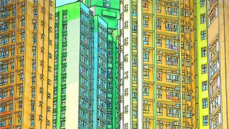 A Coloured Page Out Of An Adult Colouring Book In Steve McDonalds Fantastic Cities Series Facebook Coloring Books By McDonald