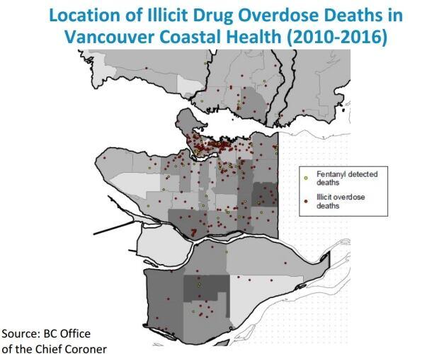 Drug overdoses Vancouver