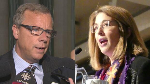 Saskatchewan Premier Brad Wall and Naomi Klein got into an argument over the Leap Manifesto on Twitter.