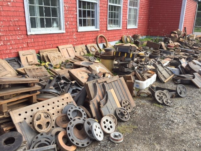 Lunenburg Foundry historic items for sale as buildings come down