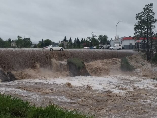 Dawson Creek flooding