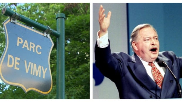 A proposal to rename Vimy Park after former Quebec Premier Jacques Parizeau has generated controversy.