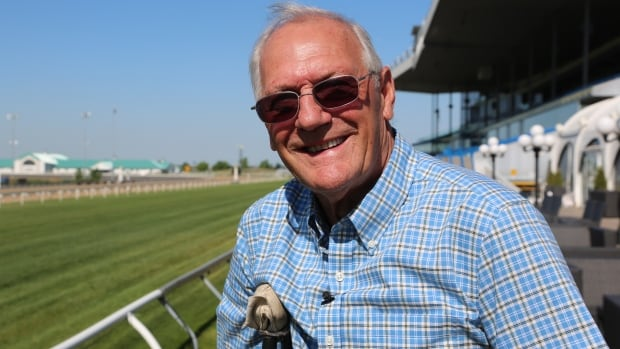 Roger Attfield is at the track by 5:30 a.m. training horses at Toronto's Woodbine Racetrack — even with a broken foot.