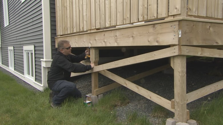 Safety Lessons For Building A Backyard Deck Cbc News
