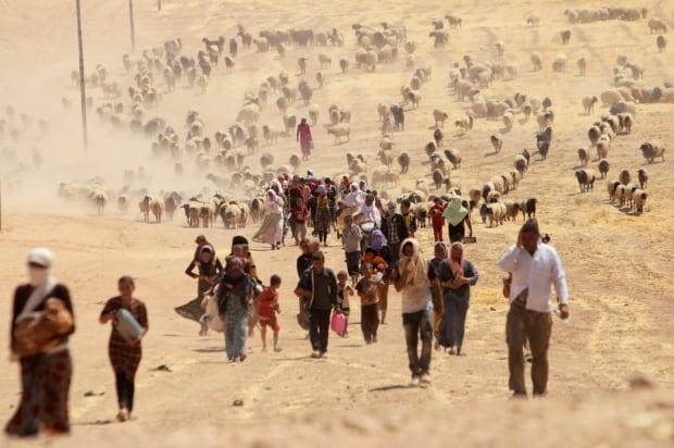 MIDEAST-CRISIS/SYRIA-YAZIDI