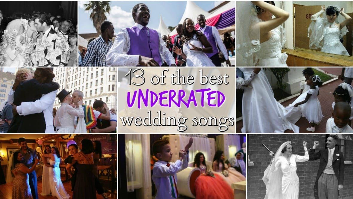 13 Of The Best Underrated Wedding Songs