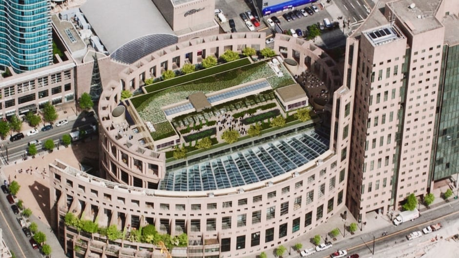 Image result for vancouver public library rooftop