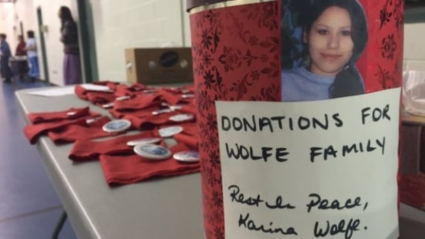 Family and friends kept her name in the news after Karina Wolfe went missing.