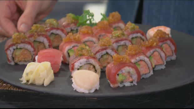 Sushi from Miku Restaurant