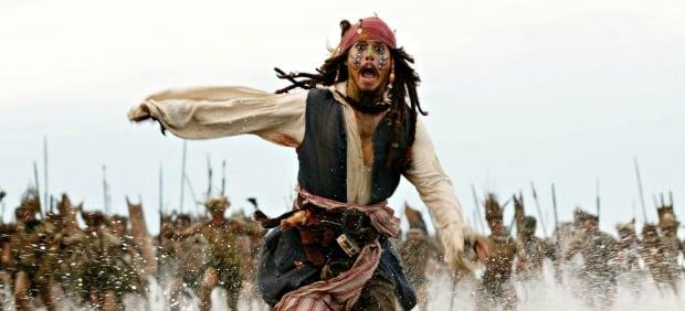 Johnny Dep piracy