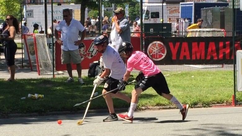 Play On Halifax Street Hockey Tournament Kicks Off Cbc News