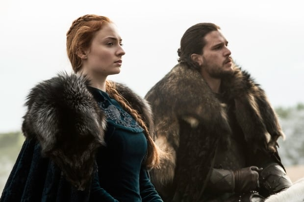 Game of Thrones Sansa and Jon
