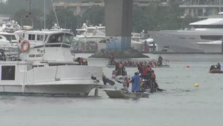 Dragon Boat and charter boat in False Creek