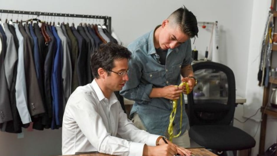 Suited, a Lena Dunham-backed documentary, looks at a Brooklyn company that tailors to those normally left out: gender non-conforming clients.