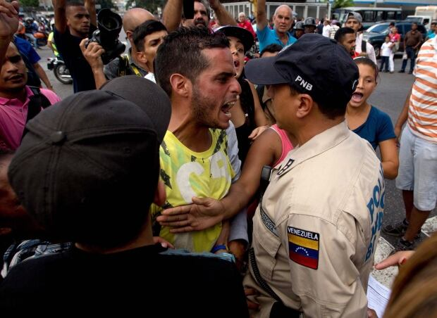 APTOPIX Venezuela Protest