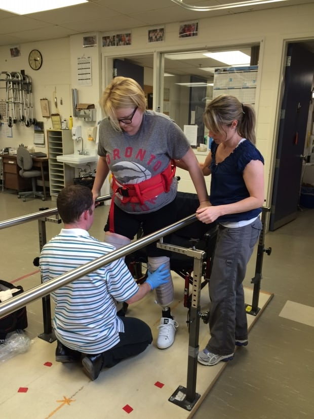Kristen Hiebert on prosthetics