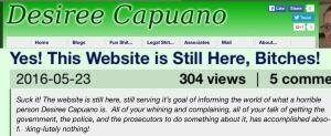 Last post on website