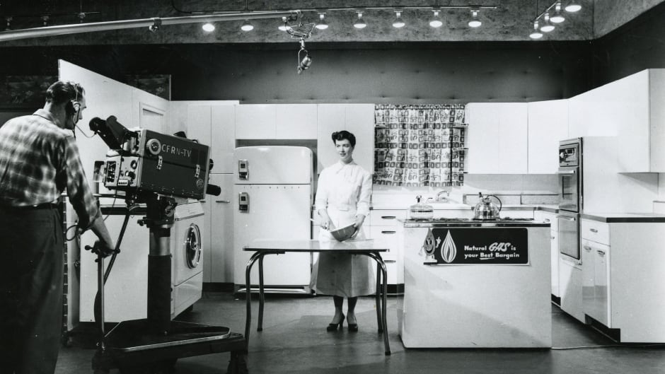 """The original ATCO home service department was established in 1930 to help homemakers get the best results when using the """"exciting new cooking fuel, natural gas."""""""