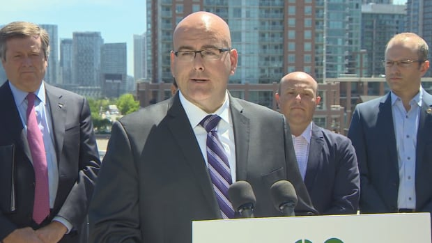 Ontario's Transportation Minister Steven Del Duca announced that four new GO train stations have been proposed for Toronto  to be opened within a 10-year time horizon.