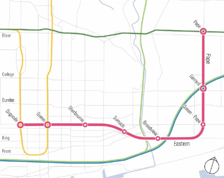 Ttc Subway Map Future.Toronto May Take On 5 Transit Projects Over 15 Years But Only 1 Is