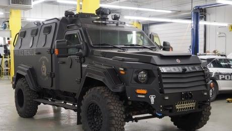 Winnipeg police armoured vehicle