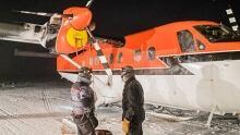 Kenn Borek Air rescue flight arrives at Rothera station