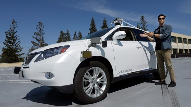 Driverless cars are being developed by Google, as seen here, and other companies like Tesla and Audi. But the algorithms the vehicles run on must be able to make complex moral decisions in a split-second, say researchers.