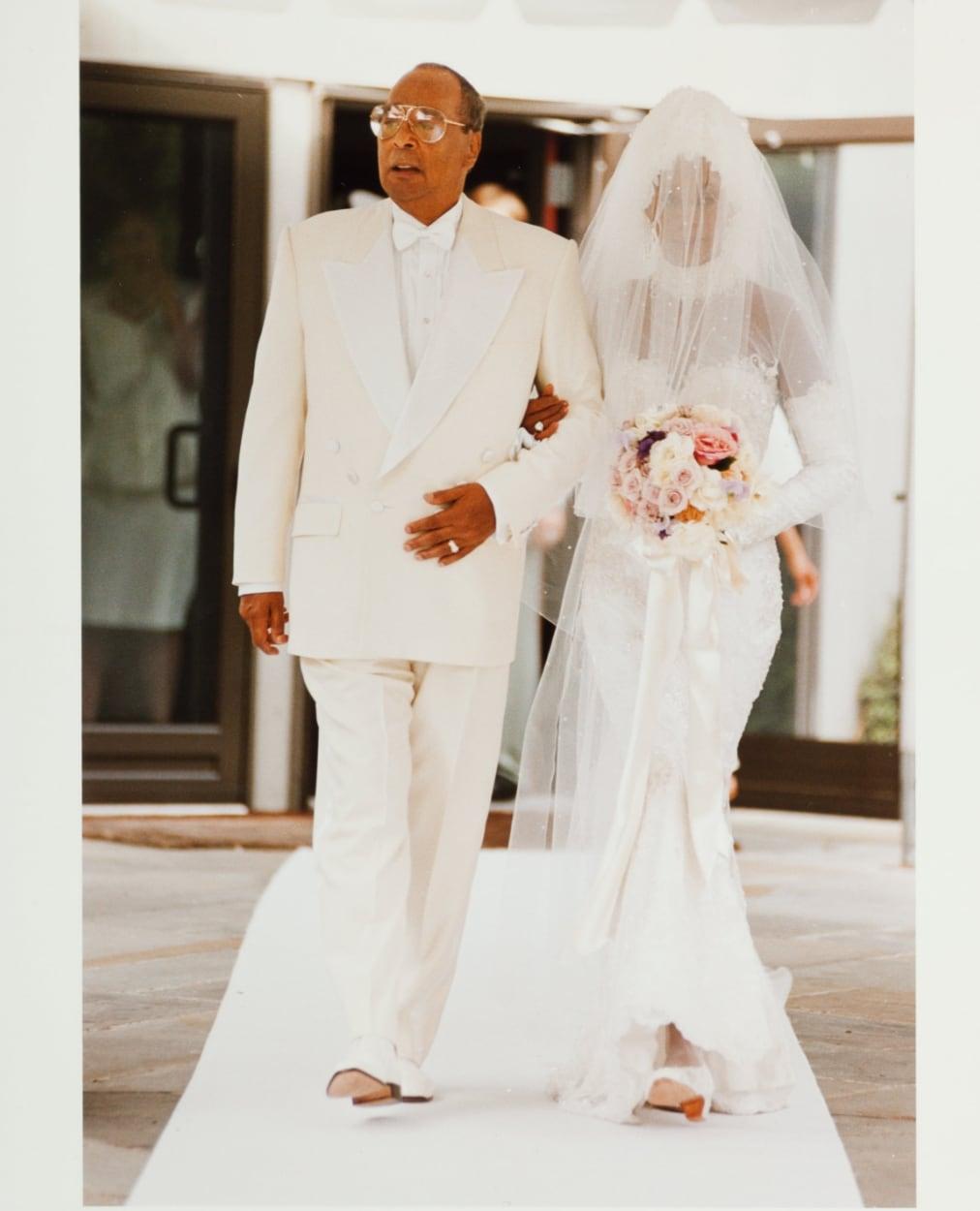 Whitney Houston Wedding Dress