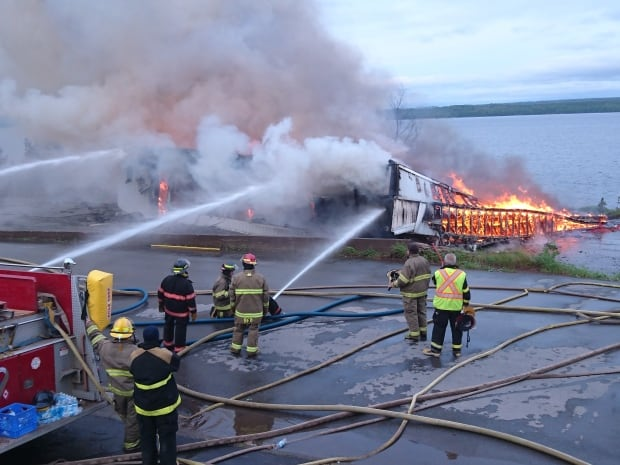 discovery centre burns to the ground in botwood