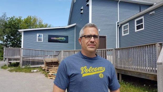 Dave Sawler founded Undercurrent in Glace Bay six years ago.