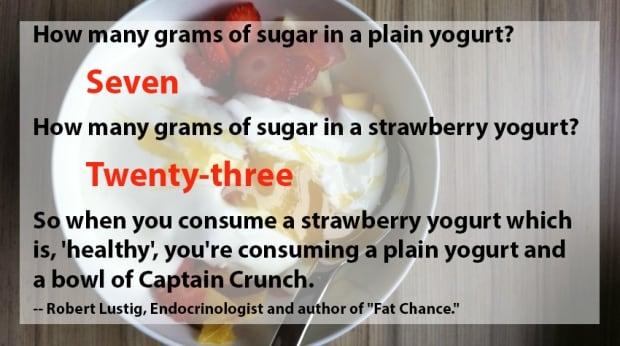Fat vs Sugar yogurt