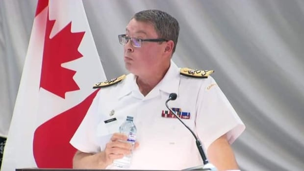 Vice-Admiral Mark Norman, the vice-chief of defence staff, was suspended from his duties but not relieved of command two months ago.