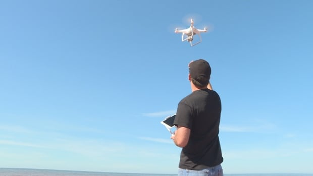 The UPEI Climate Research Lab has been using drones this summer to learn more about erosion on the Island's coast.