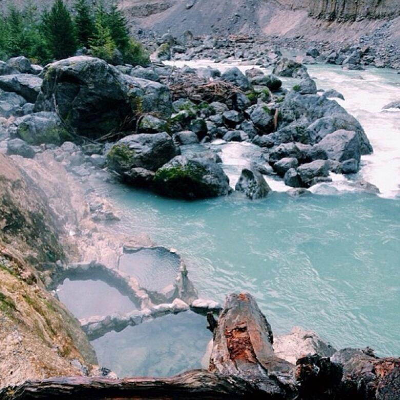 best hot springs in bc