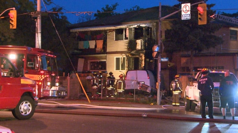 a9bd8b56c9 No injuries were reported among residents or firefighters after an early  morning fire forced families to flee a multi-unit house in Scarborough.