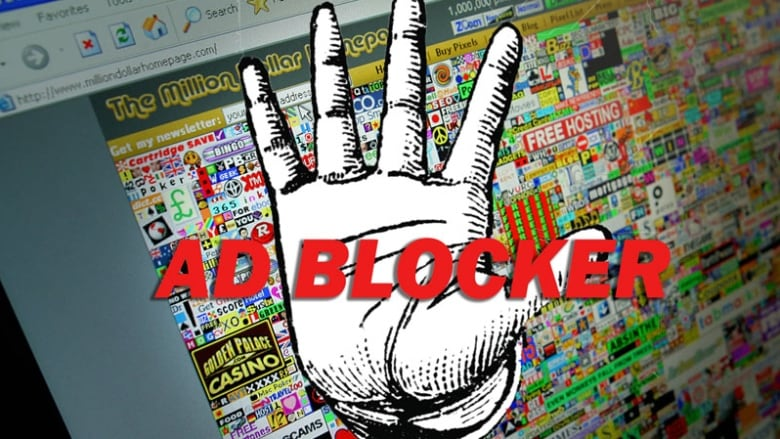 Ad blocker graphic