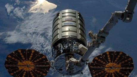 Orbital ATK Cygnus cargo craft