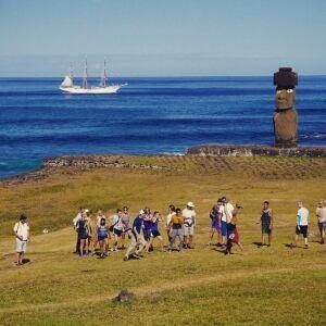 Easter Island field trip