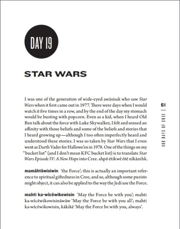 100 Days of Cree: Star Wars Chapter, Page One
