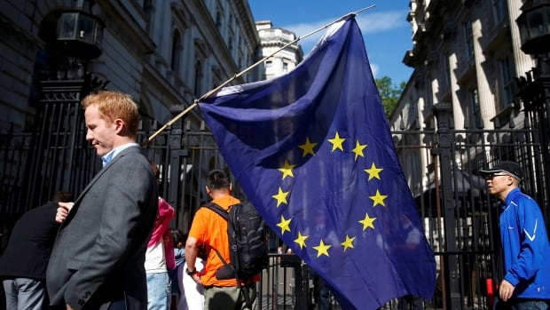 European Union leaders said Friday that the U.K. should begin the process of leaving the EU as soon as possible. It's expected that some countries will take a tough approach in negotiations over new trade deals, which will take at least two years to complete.