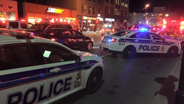 Police responded to a shooting and stabbing in the ByWard Market early Saturday morning. Investigators have since charged three teens in connection to the incident.