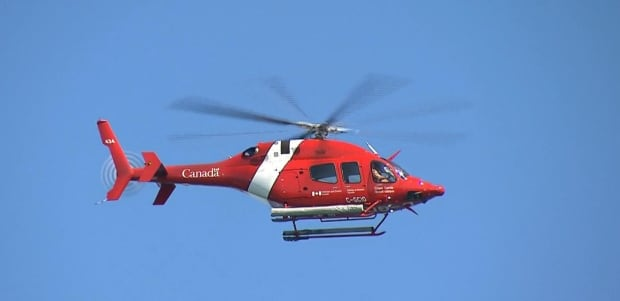 Canadian Coast Guard helicopter