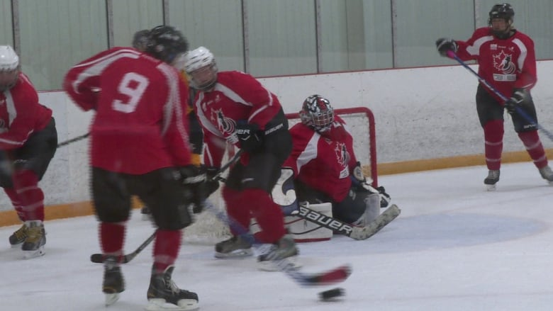Visually Impaired Hockey Players Arrive In Ottawa For Debut