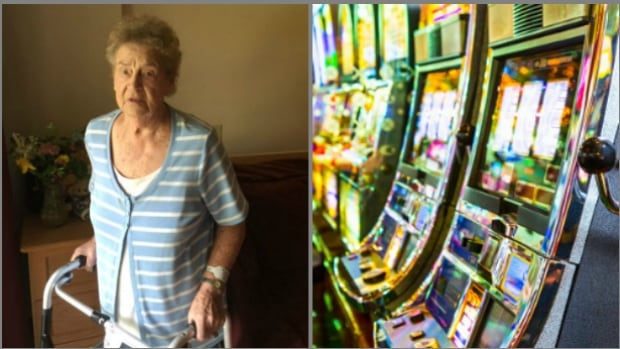 The adult children of 91-year-old Elfriede Lippa (left) say she developed a gambling habit at a Victoria casino that caused her to lose close to $300,000.