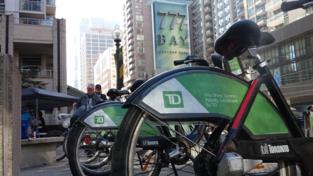 70 new Bike Share Toronto stations will be installed throughout August.