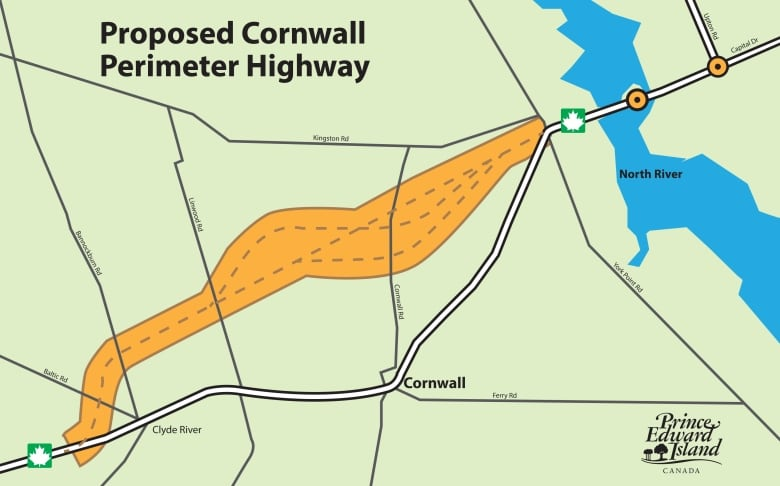Cornwall Canada Map.Cornwall Bypass Route To Be Unveiled Mid Summer Cbc News