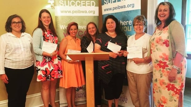 PEI's Women in Business 2016 micro-grant recipients were announced Tuesday in Summerside.