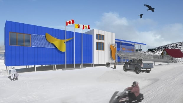 An artist's rendition of the proposed Kenojuak Centre in Cape Dorset. A fundraising campaign is underway to build a new gallery and studio space in the Nunavut hamlet, home to some of Canada's most famous Inuit artists.
