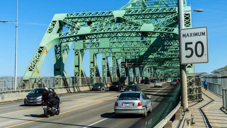 Jacques Cartier Bridge weekend roadwork prompts lane closures | CBC News
