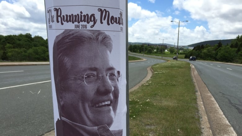 Danny Williams poster on Prince Philip Parkway
